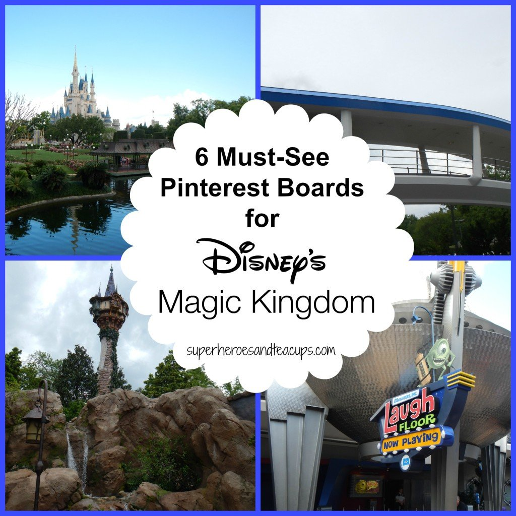 6 Must-See Pinterest Boards for Magic Kingdom