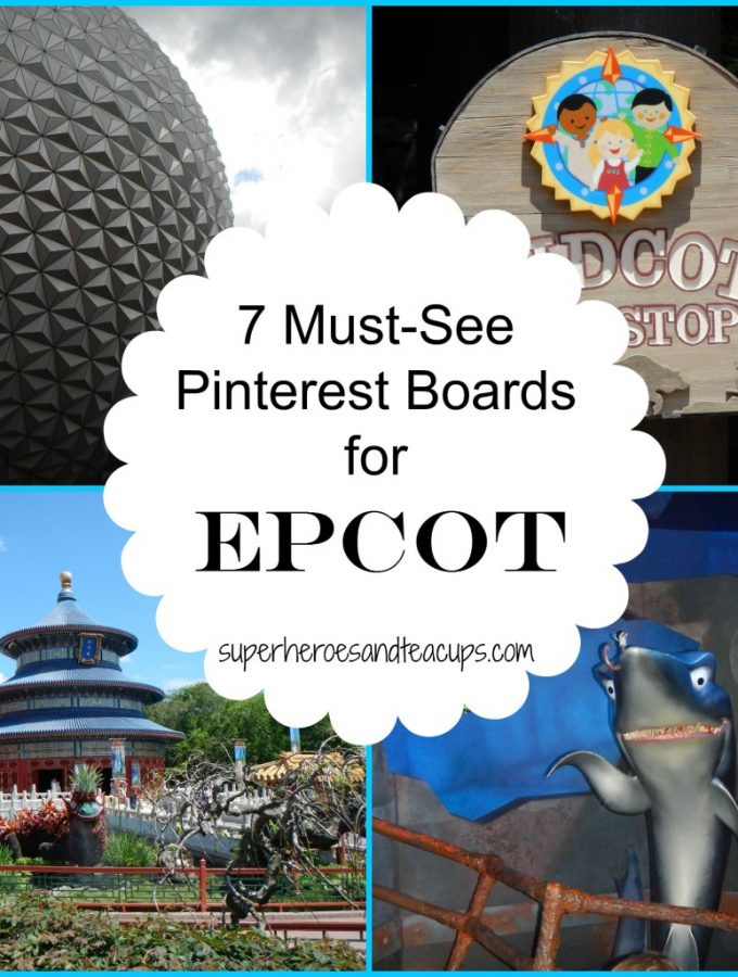 7 Must-See Pinterest Boards for Epcot