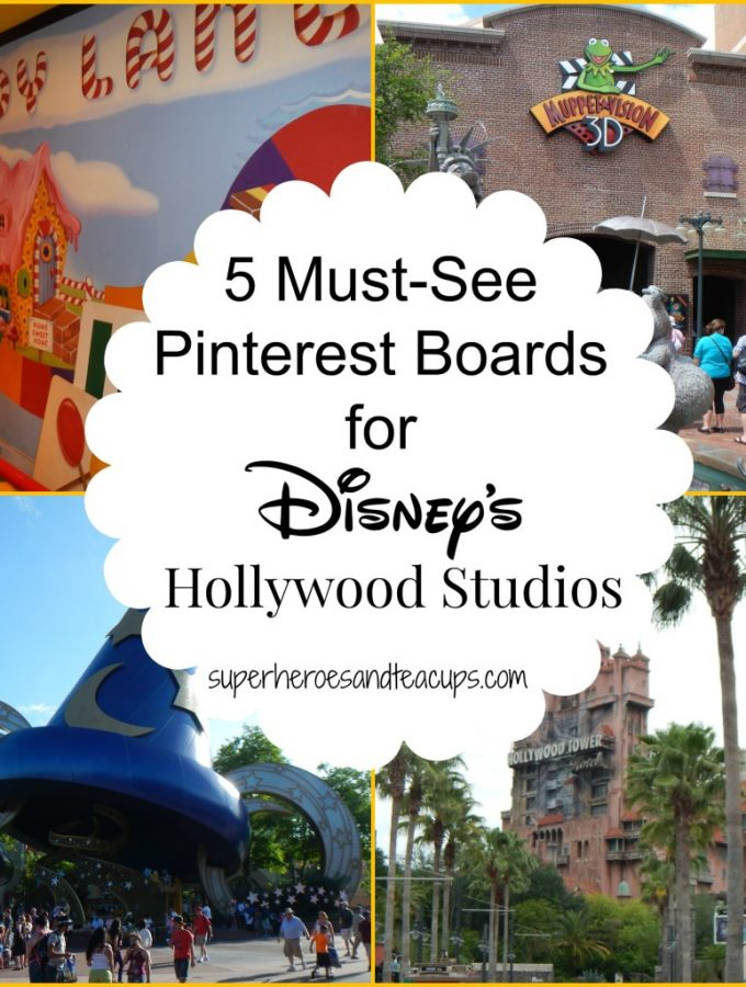 5 Must-See Pinterest Boards for Disney's Hollywood Studios