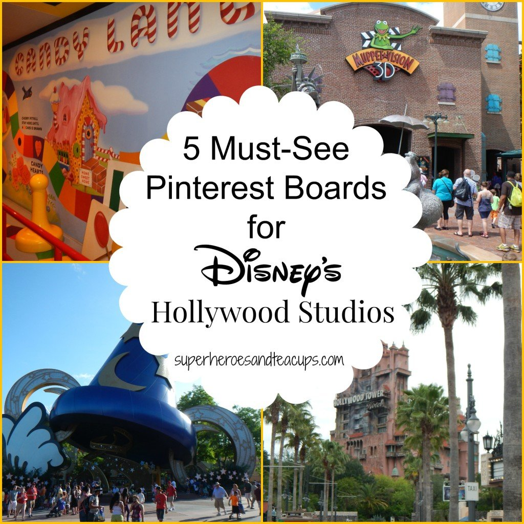 5 Must See Pinterest Boards for Disney's Hollywood Studios