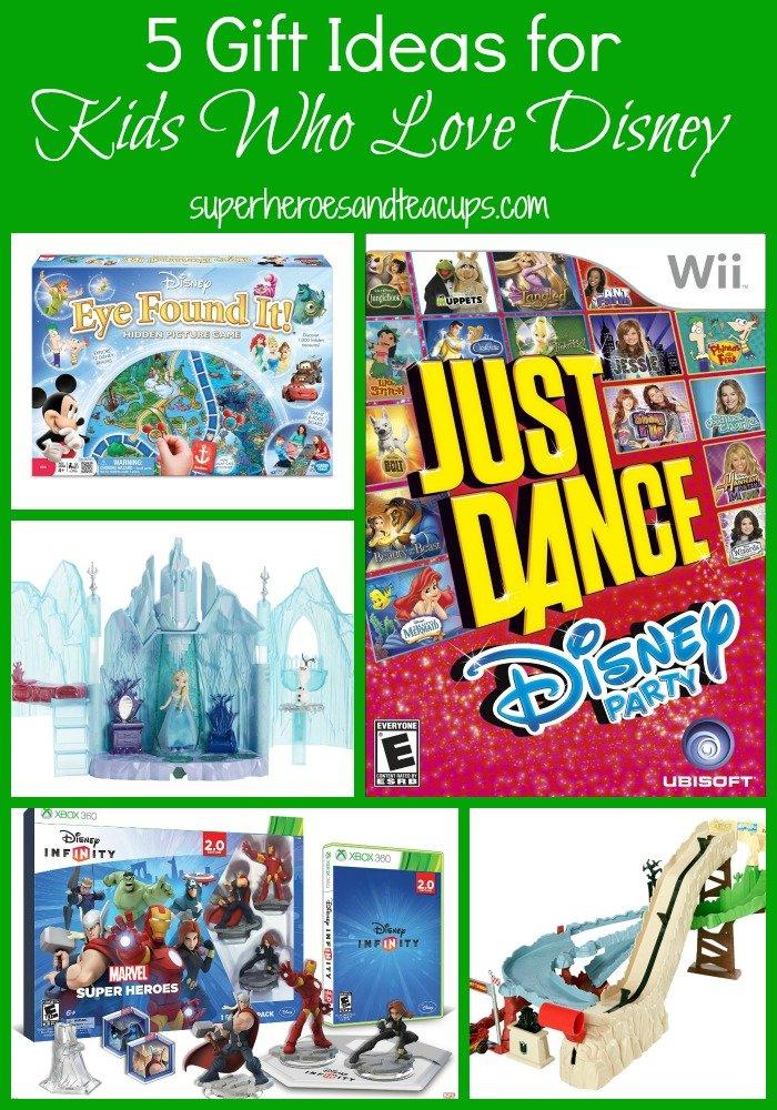 5 Gift Ideas for Kids Who Love Disney