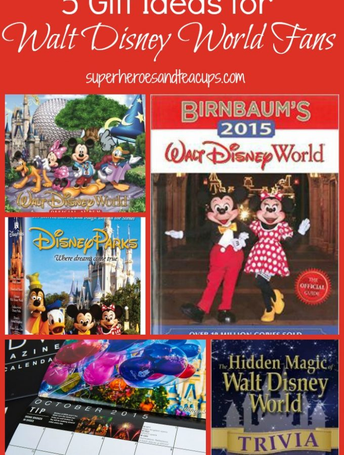 Gift Ideas for Walt Disney World Fans