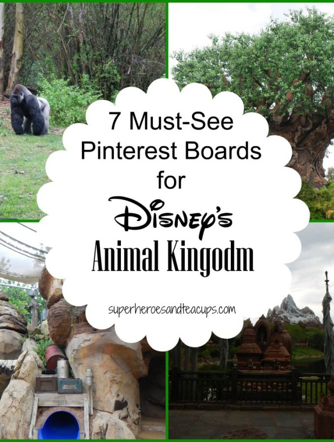 7 Must-See Pinterest Boards for Disney's Animal Kingdom