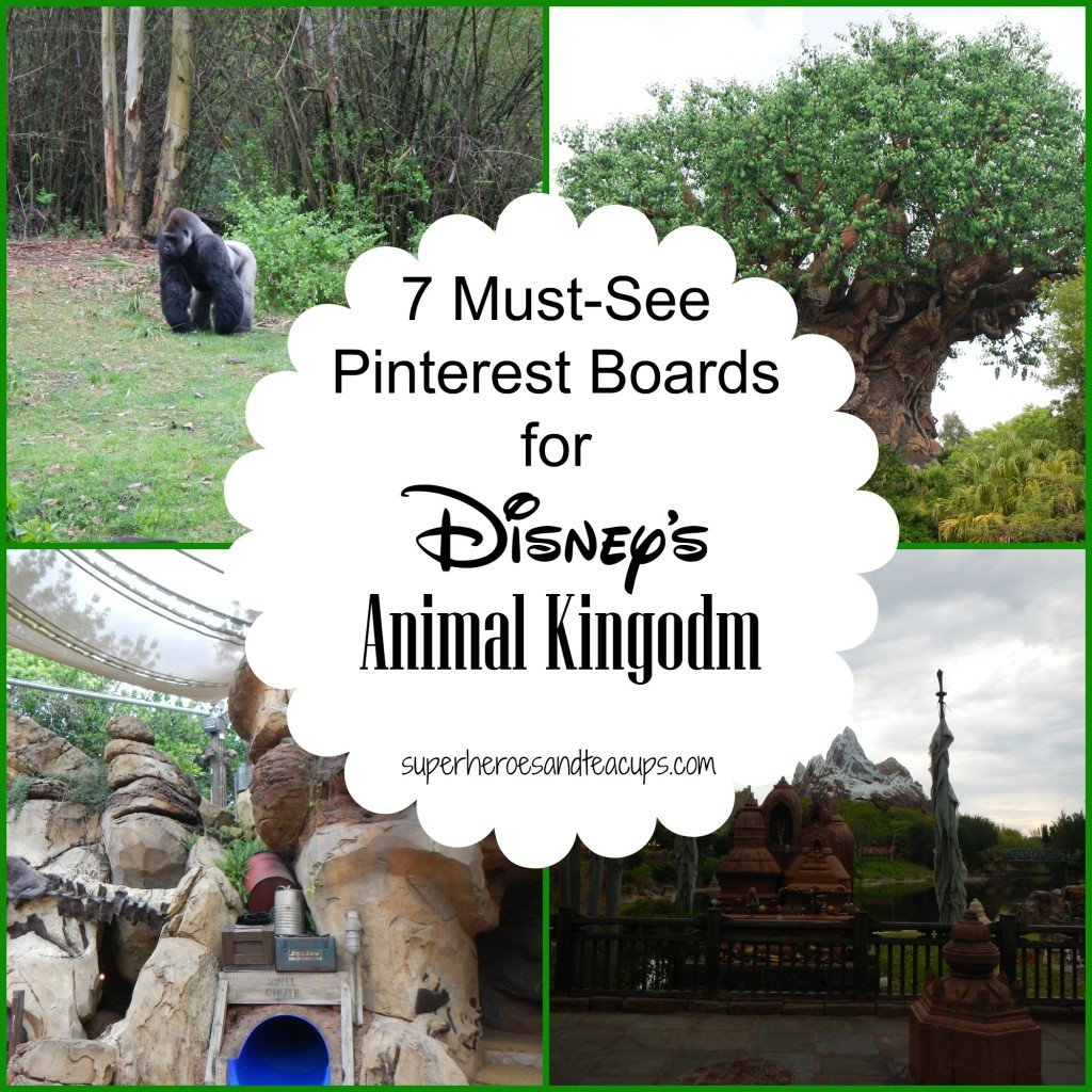 7 Must-See Pinterest Boards for Disney's Animal Kingodom