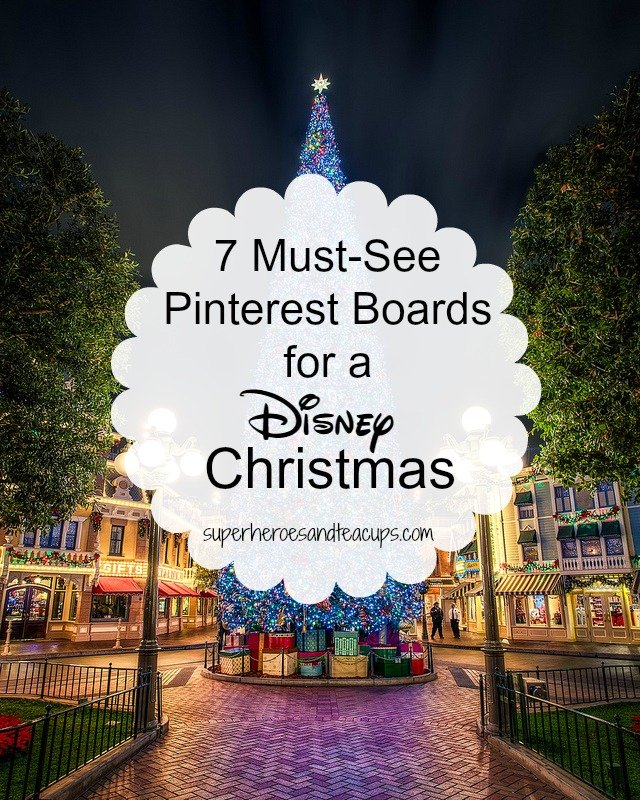 7 Must-See Pinterest Boards for a Disney Christmas