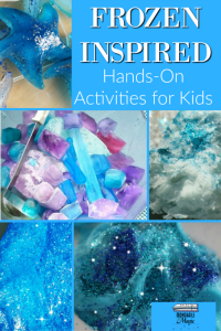 Frozen Inspired Hands-On Activities