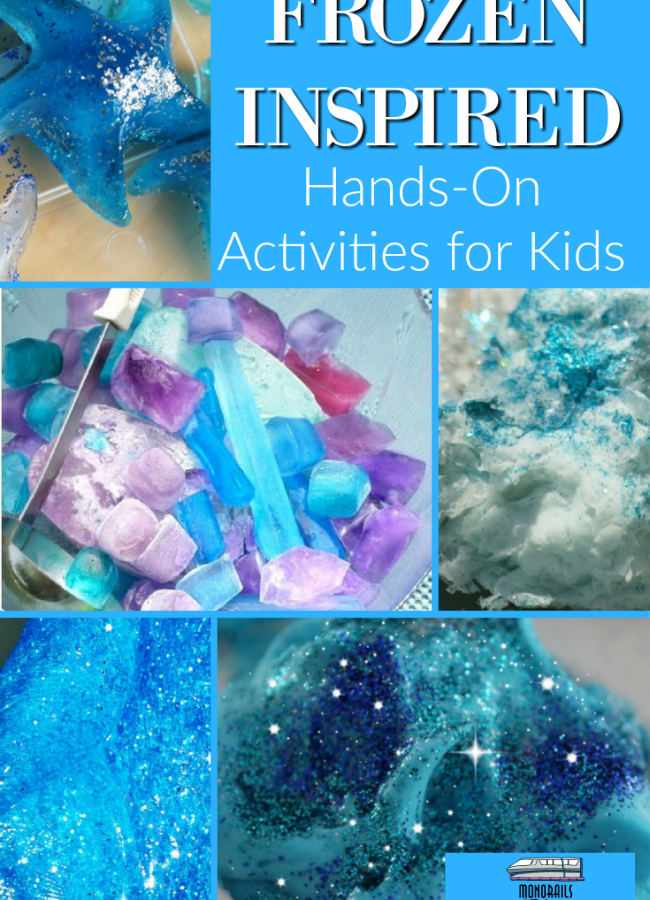 Frozen Inspired Hands-On Activities for Kids