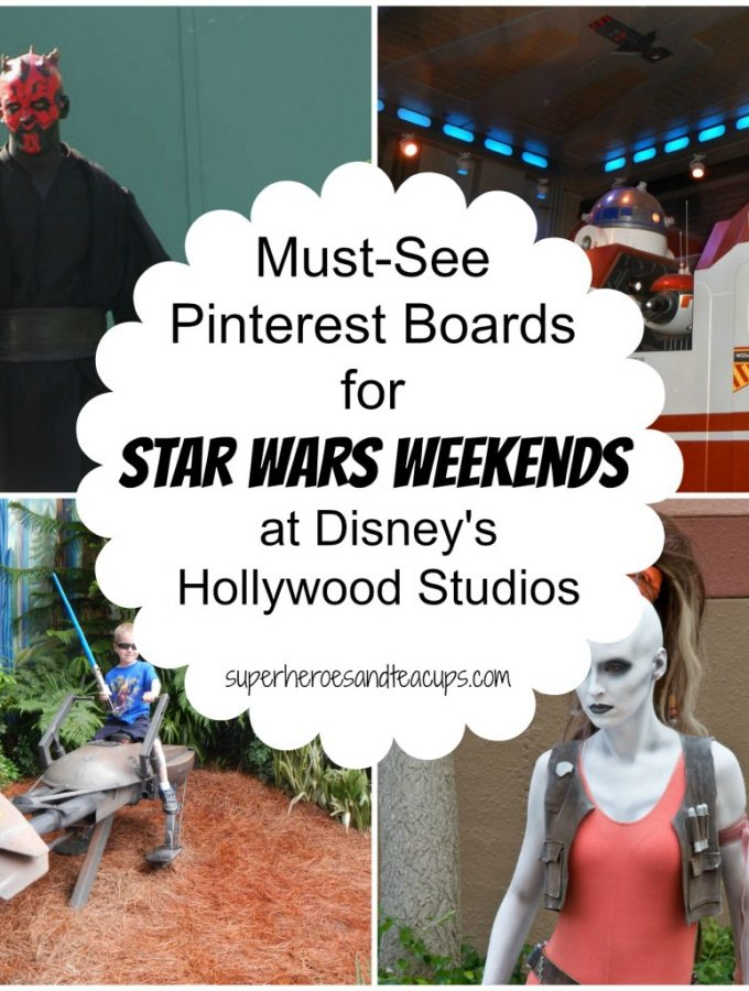 Must See Pinterest Boards for Star Wars Weekends at Disney's Hollywood Studios