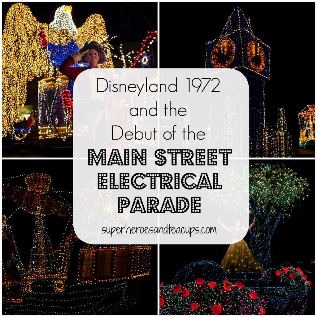 Disneyland 1972 Main Street Electrical Parade