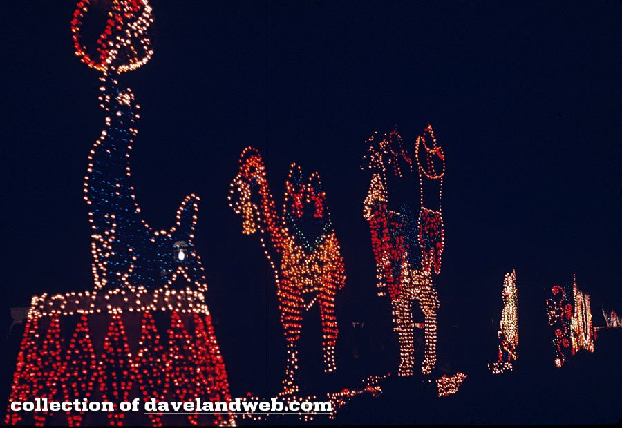 Early Main Street Electrical Parade