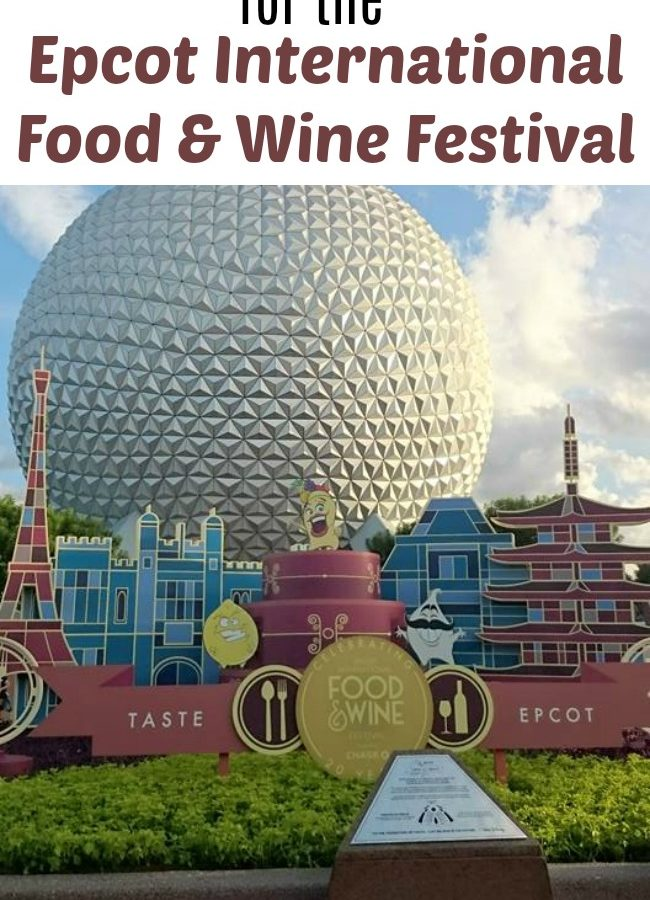 Must See Pinterest Boards for the Epcot International Food and Wine Festival