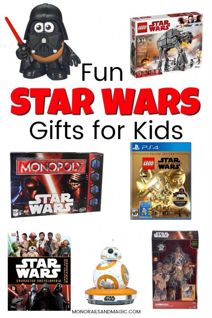 Fun Star Wars Gifts for Kids