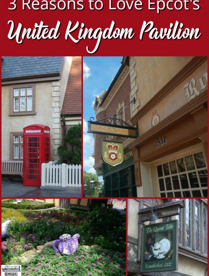 Epcot's United Kingdom Pavilion