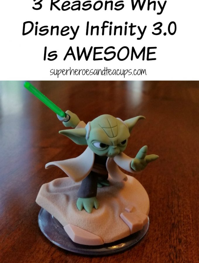 3 Reasons Why Disney Infinity 3.0 is Awesome