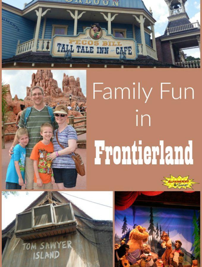 Family Fun in Frontierland at Disney's Magic Kingdom