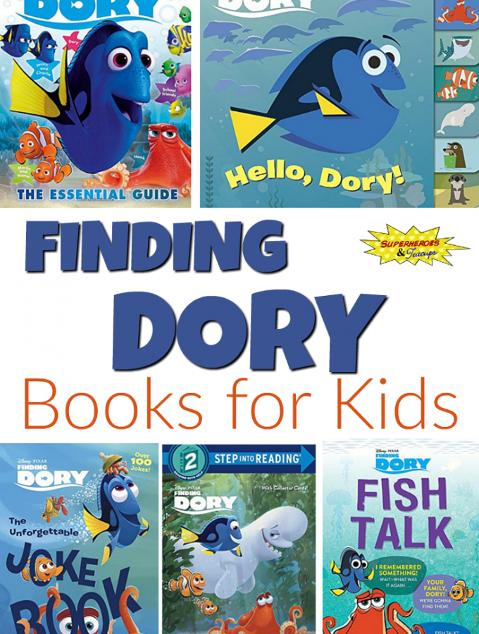 Finding Dory Books for Kids
