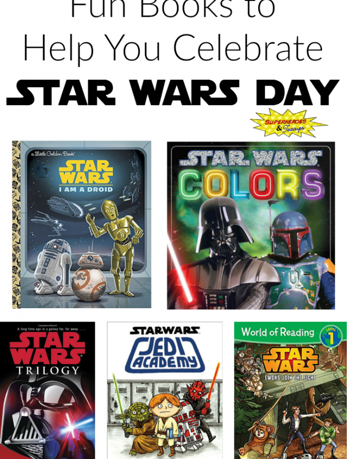 Fun Books to Help You Celebrate Star Wars Day