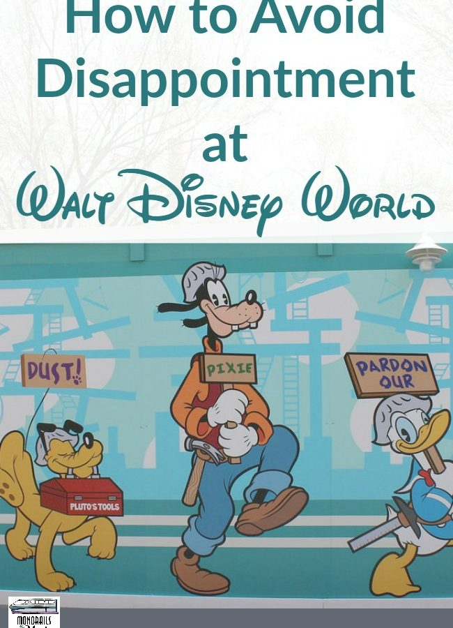How to Avoid Disappointment at Walt Disney World