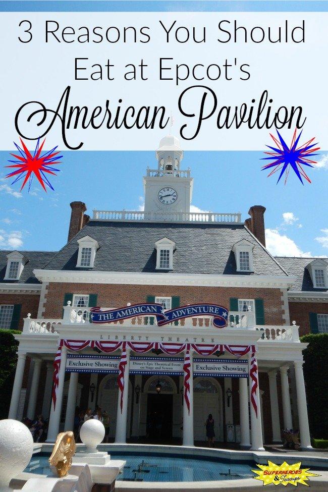 Epcot's American Pavilion