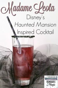 Disney's Haunted Mansion Inspired Cocktail
