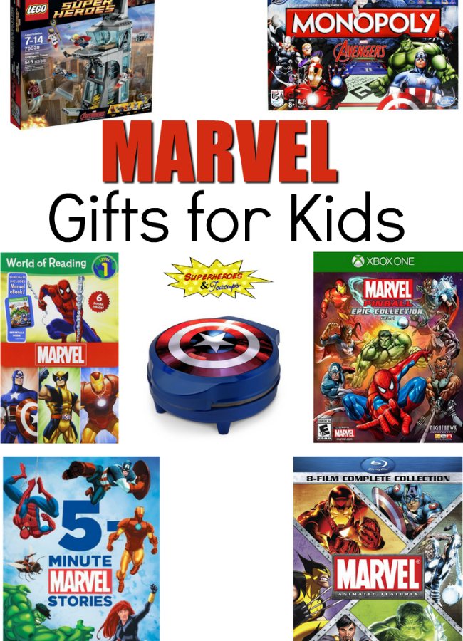 Marvel Gifts for Kids