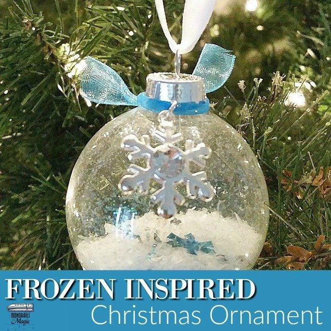 Frozen Inspired Ornament