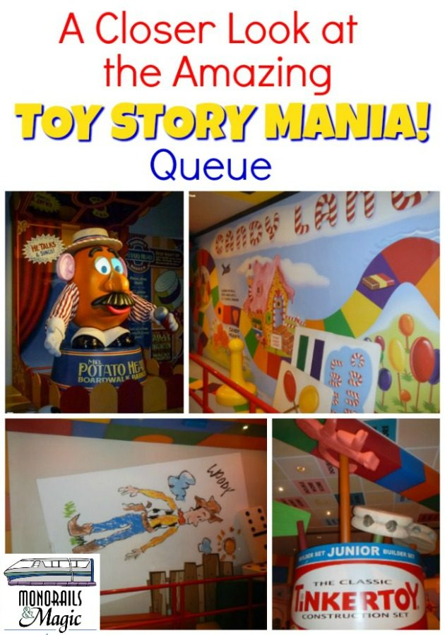 A Closer Look at the Amazing Toy Story Mania! Queue