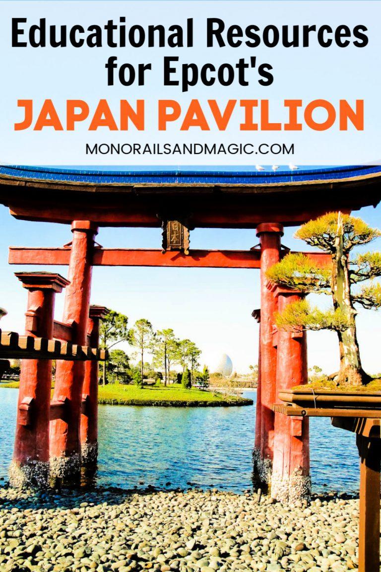 Educational Resources for Epcot's Japan Pavilion