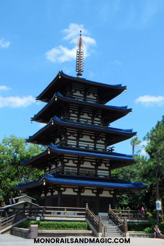 Epcot Japan Pavilion Pagoda