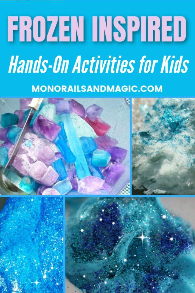 Frozen Inspired Hands-On Activities for Kids