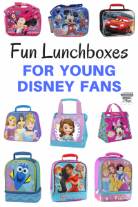 Fun Lunch Boxes for Young Disney Fans