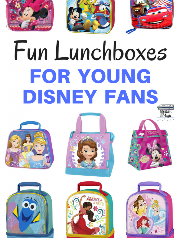 Fun Lunchboxes for Young Disney Fans