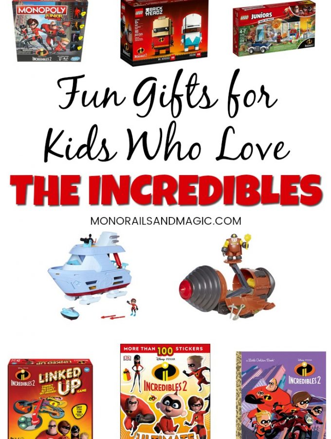 Fun Gifts for Kids Who Love the Incredibles