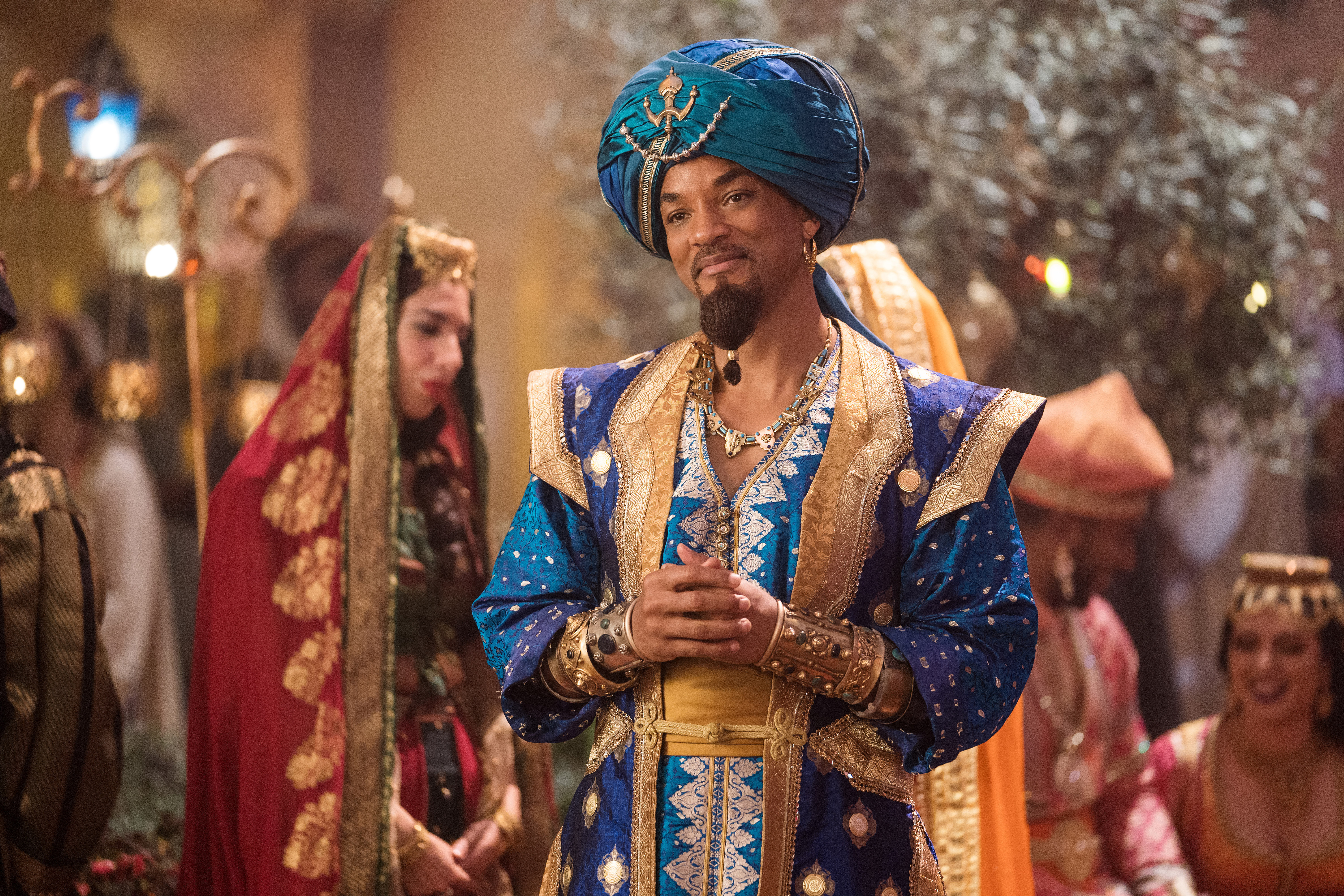 Will Smith as the Genie from Aladdin