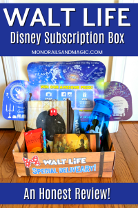 Walt Life Disney Subscription Box Review