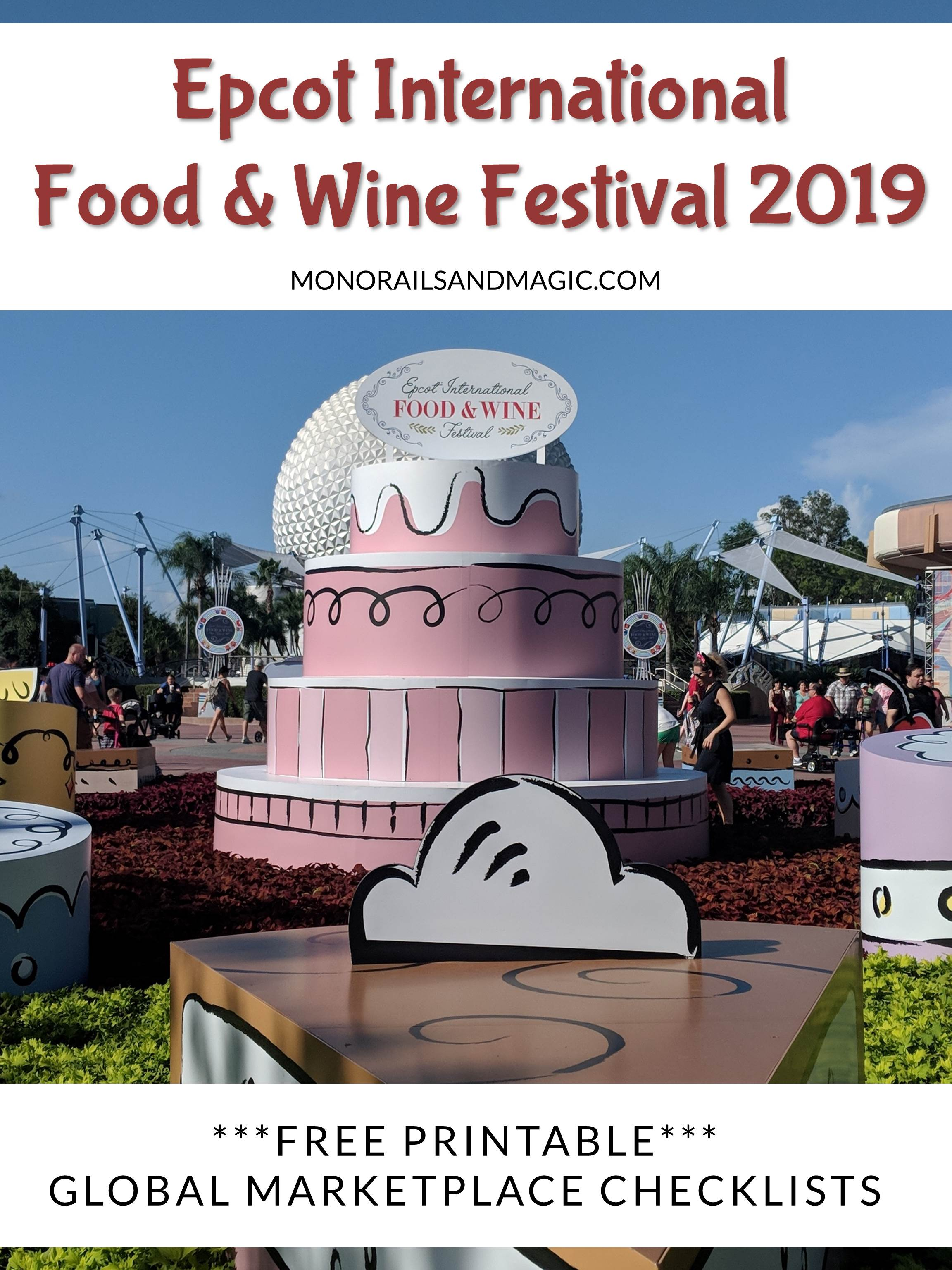 Food and Wine Festival Checklist