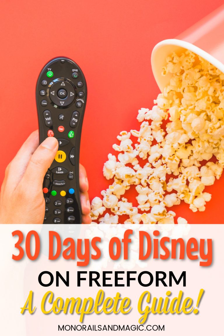 Complete Guide to 30 Days of Disney on Freeform