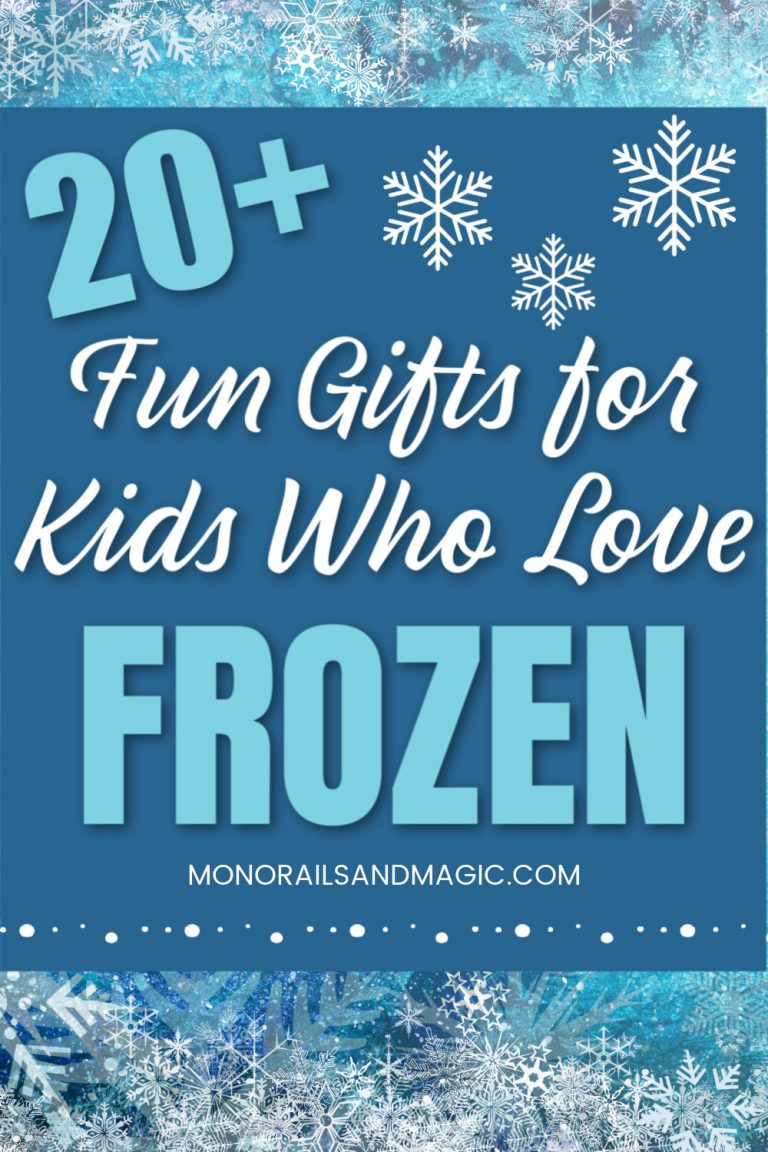 20+ Fun Gifts for Kids Who Love Frozen