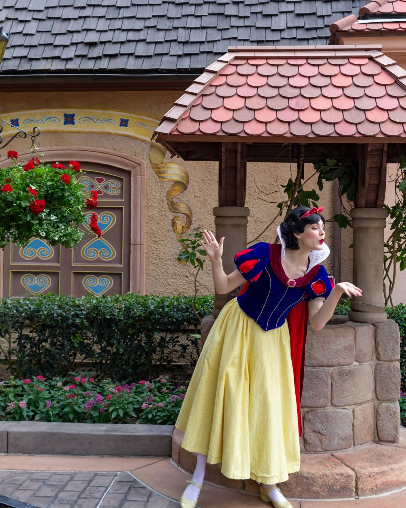 Snow White at Epcot