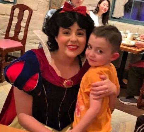 Snow White at Akershus Royal Banquet Hall
