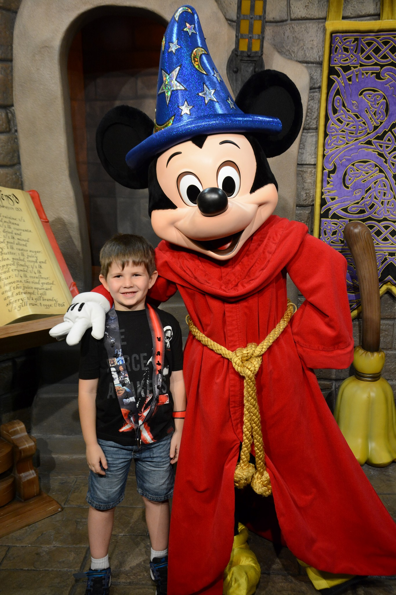 Fantasia Sorcerer Mickey Meet and Greet