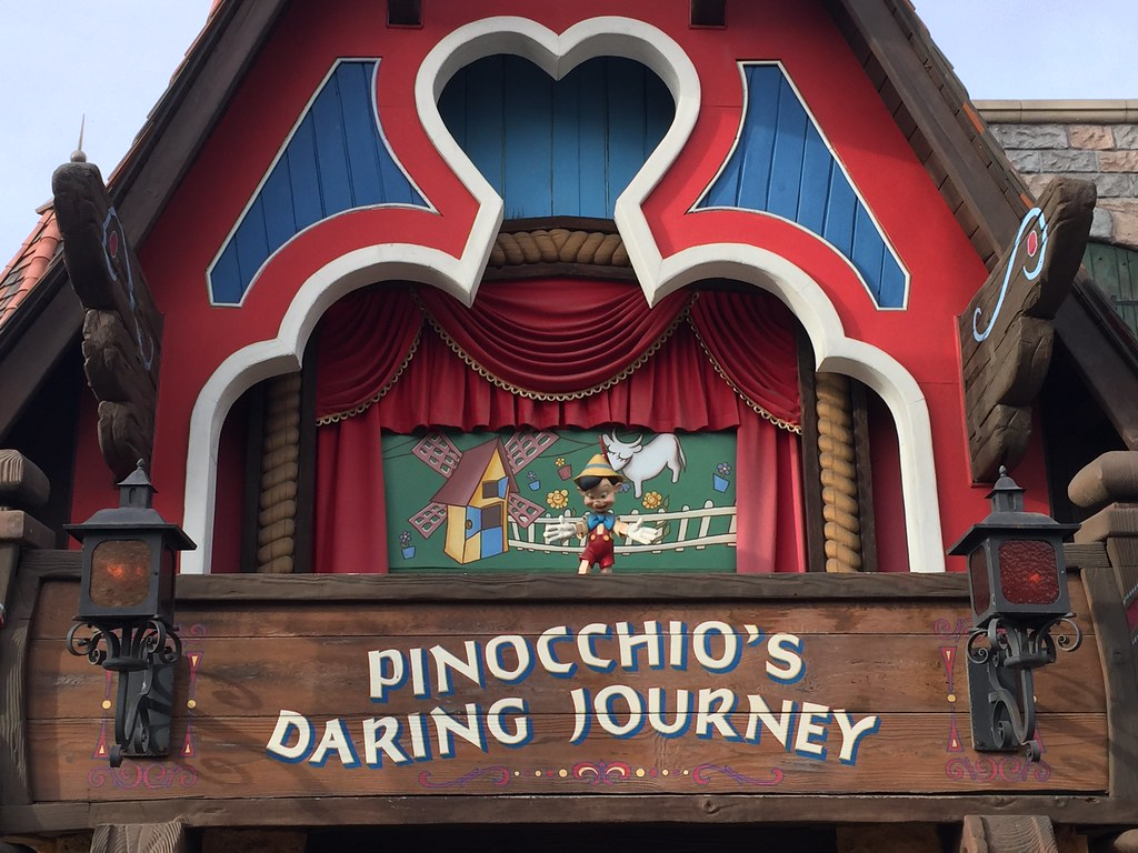 Pinocchio's Daring Journey Ride