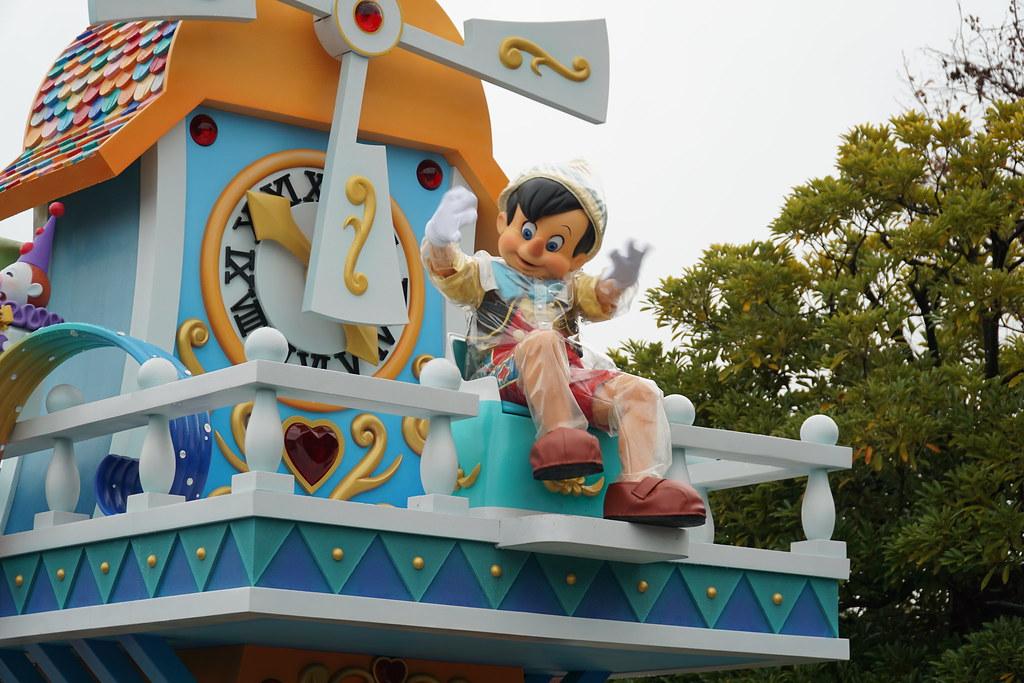 Pinocchio Dreaming Up Parade