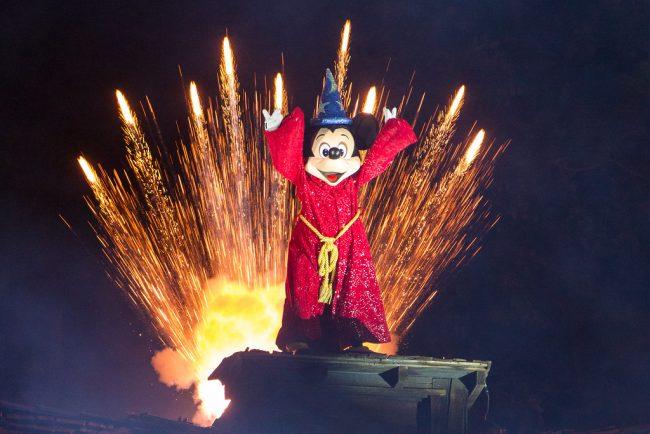 Fantasmic Sorcerer Mickey