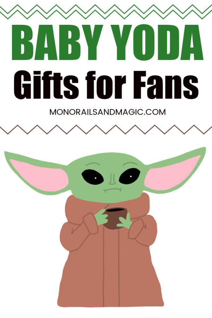 Fun gift ideas for Baby Yoda fans