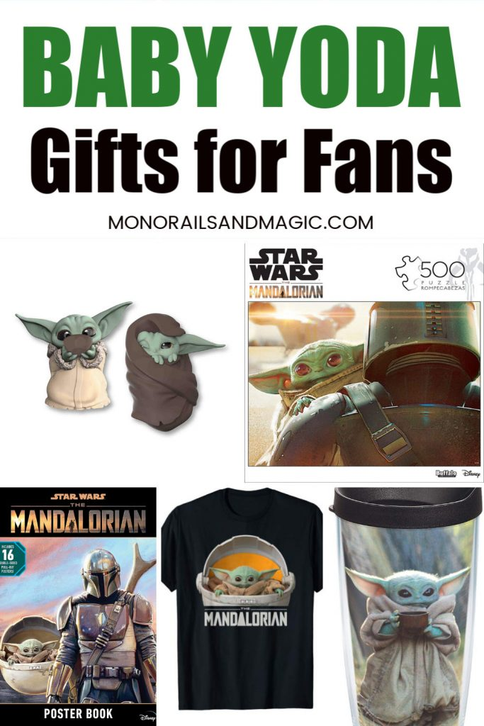Fun Baby Yoda gifts for fans