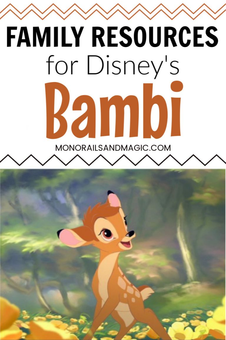 Family Resources for Disney's Bambi