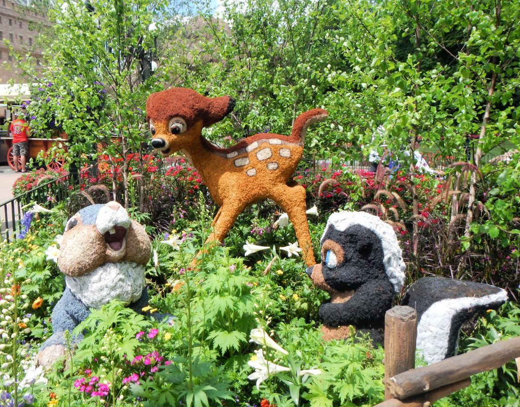 Topiary of Disney's Bambi