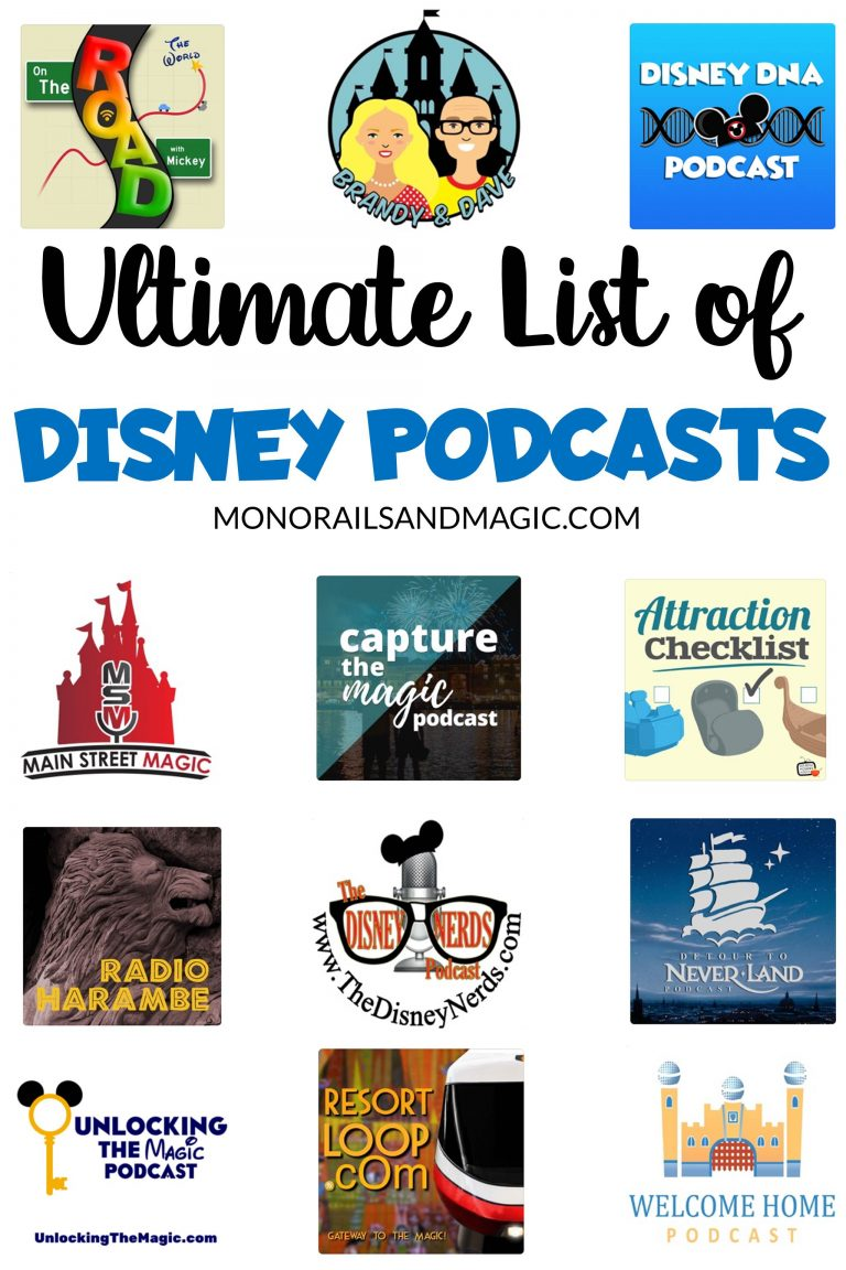 Ultimate List of Disney Podcasts