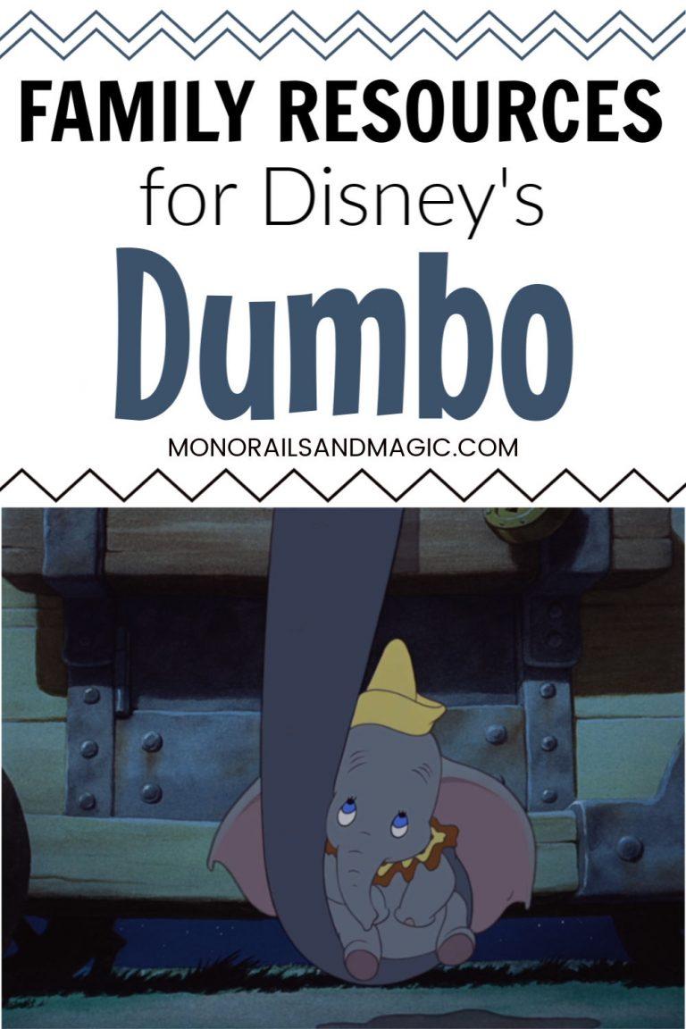 Family Resources for Disney's Dumbo
